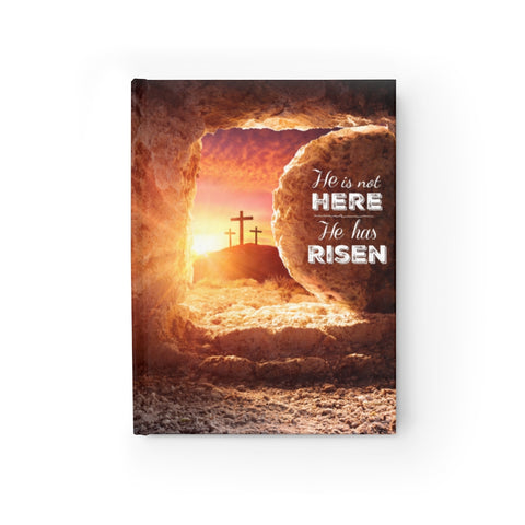 Image of He Is Not Here, He Has Risen Journal