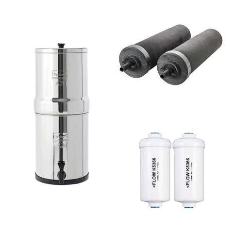 Travel Berkey® & Fluoride Bundle Sale