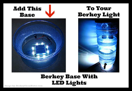 Berkey Base With LED Lights
