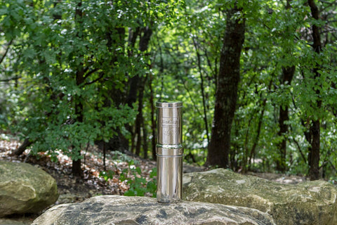 Image of Go Berkey In Woods On Rock