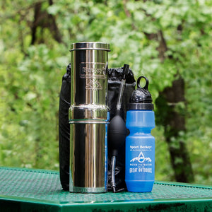 Go Berkey Kit In Woods