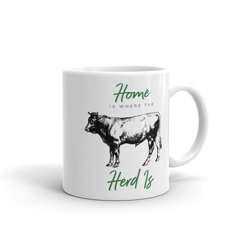 Image of Home Is Where the Herd Is Mug