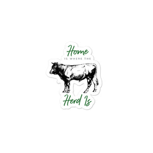 Home Is Where The Herd Is Stickers