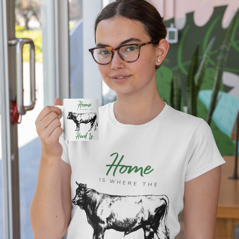 Home Is Where the Herd Is Mug