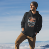 Peace Is Found On The Trail Black Hoodie