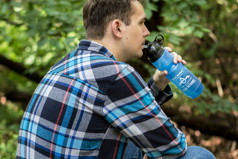Image of Sport Berkey Man Drinking
