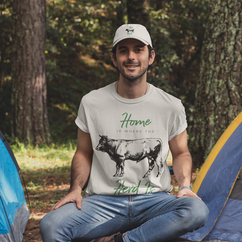 Image of Home Is Where The Herd Is T-Shirt
