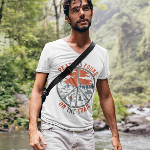 Image of Peace Is Found On The Trail T-Shirt