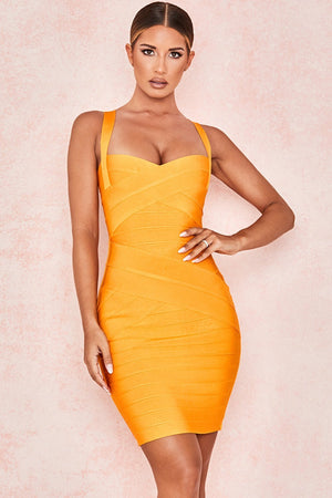 Mango Bandage Mini Dress