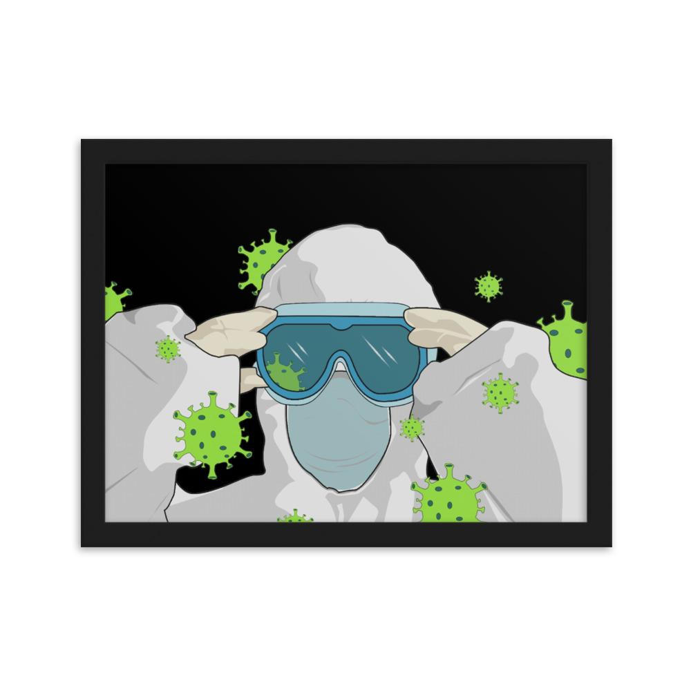 Contagious Framed Matte Paper Poster