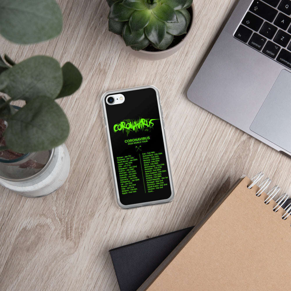 World Tour iPhone Case