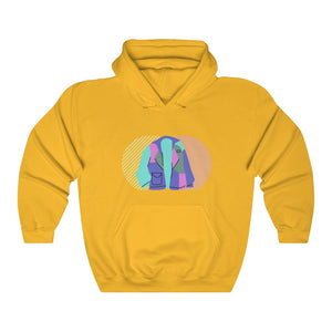 RETRO Unisex Hooded Sweatshirt