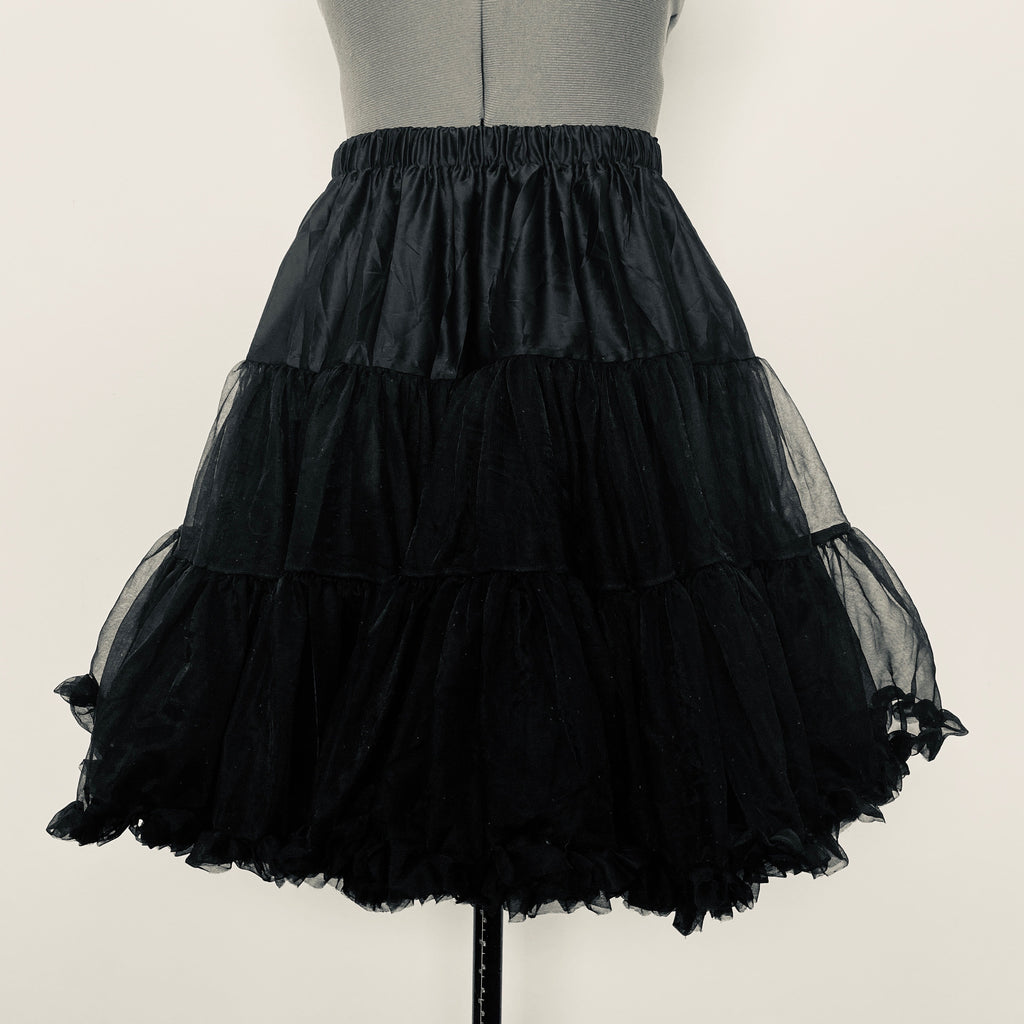Black luxury petticoat - BurnBella