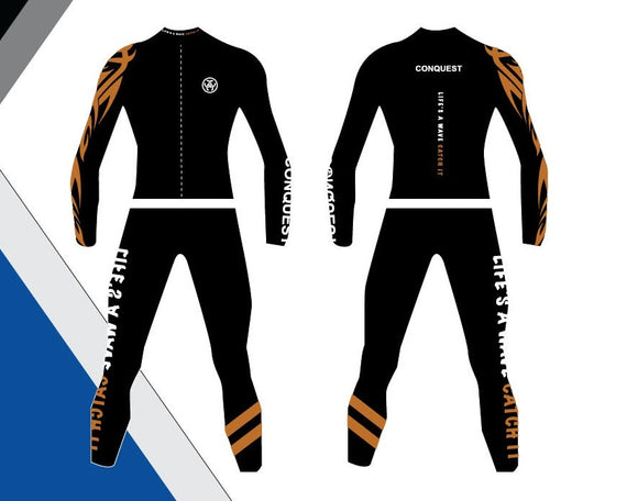 Conquest Wetsuit Male - Orange