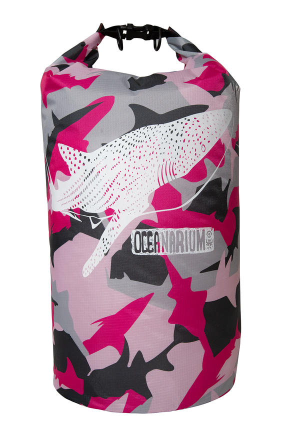 PINK CAMO WHALESHARK 15L