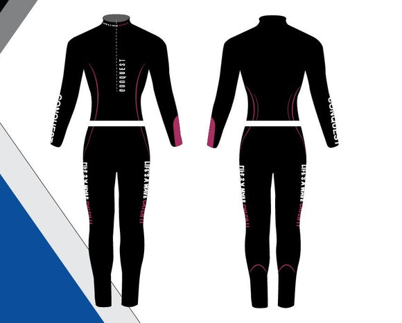 Conquest Wetsuit Famale - Pink