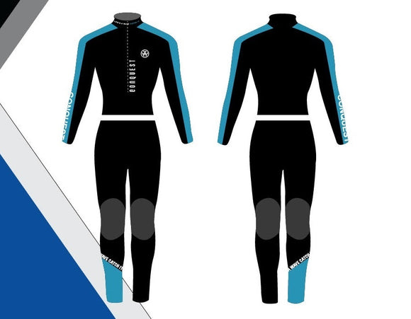 Conquest Wetsuit Female - Blue