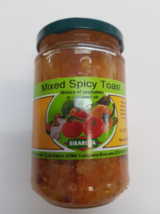 Sibarizia - Mixed Spicy Toast