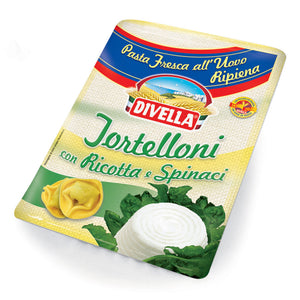 Divella Tortelloni with Ricotta and Spinach