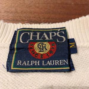 CHAPS RALPH LAUREN/snow mountain sweat/ size M