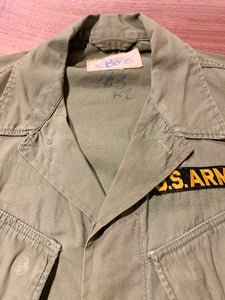 60s/US ARMY/Jungle Fatigue Jacket/DSA-100-2113/Regular-Small
