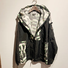 画像をギャラリービューアに読み込む, 80s/JIMMY'S/Nylon anorak hoodie/TALON ZIP/MADE IN USA/ size M