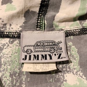 80s/JIMMY'S/Nylon anorak hoodie/TALON ZIP/MADE IN USA/ size M