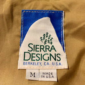 SIERRA DESIGNS/80s/60/40 MOUNTAIN PARKA/MADE IN USA/ size M/GRN