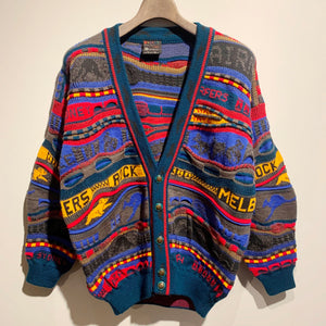 EMAROO/3D Wool Knit Cardigan/ size 10