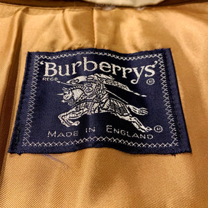 Burberrys/Nova Check Liner Bal Collar Coat/MADE IN UK/ size 10