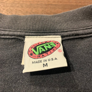80s/VANS/CALIFORNIA NATIVE T-SHIRT/MADE IN USA/ size M