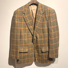 画像をギャラリービューアに読み込む, BROOKS BROTHERS/Check wool jacket/MADE IN USA/ size 39