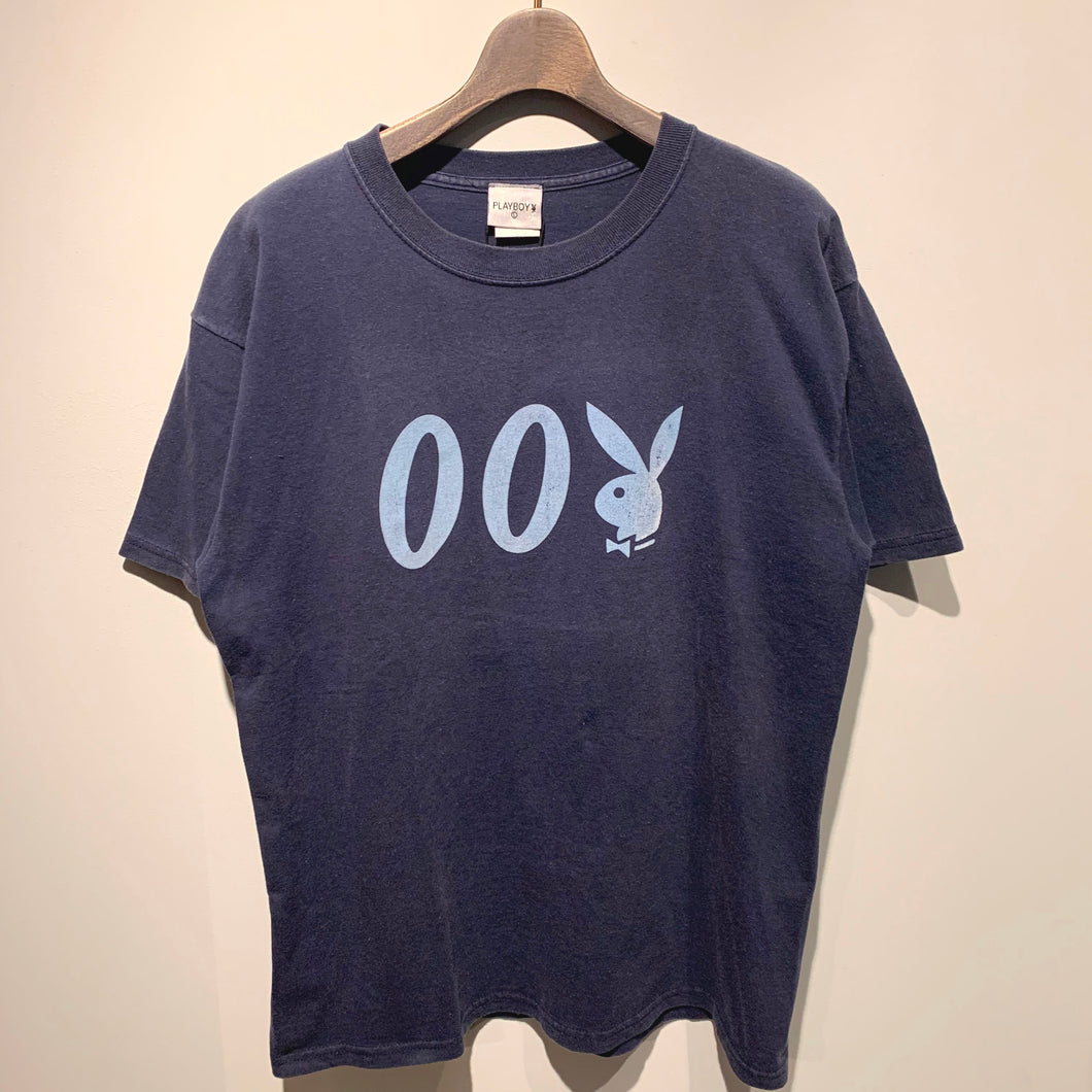 80s-90s/PLAY BOY/007 T-SHIRT/MADE IN USA/ size L