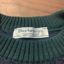 画像をギャラリービューアに読み込む, Burberrys/Wool Knit Sweater/MADE IN ENGLAND/ size 40