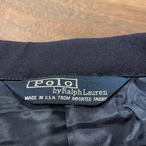RALPH LAUREN/Navy Blazer/MADE IN USA