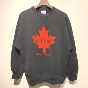90s/Hanes/effe sweat shirt/MADE IN USA/ size L
