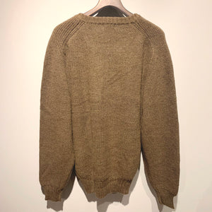 Old Y's for men/Hemp Wool V Neck Knit Sweater