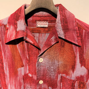 70s/McGREGOR/Made in USA/BOX SHIRT/size 16-L-16 1/2