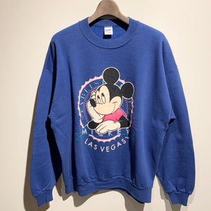 90s/MICKEY SWEAT SHIRT/MADE IN USA/ size XL