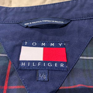 90s/TOMMY HILFIGER/Plaid Lining Swing Top/ size L