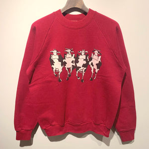 90s/FRUIT OF THE LOOM/Parody Sweat Shirt/MADE IN CANADA/ size L