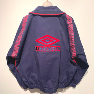 90s UMBRO/PRO TRAINING track pullover/ size XL