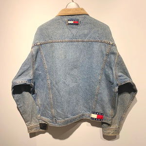 90s TOMMY JEANS/Denim Jacket/ size L