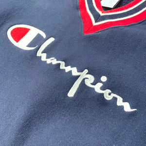 90s Champion/V-NECK LOGO Reverse Weave/MADE IN USA/ size XXL
