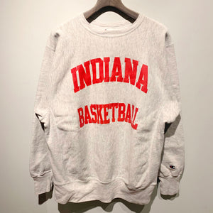 "90s Champion/""INDIANA BASKETBALL""/Reverse Weave/ size XL"