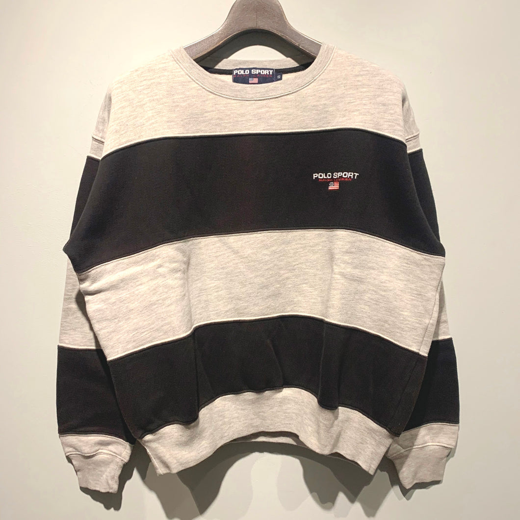POLO SPORT/Border Sweat Shirt/ size S