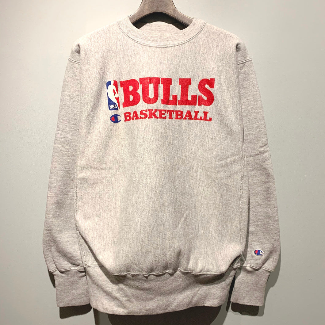 90s Champion/NBA CHICAGO BULLS Reverse Weave/MADE IN USA/ size L