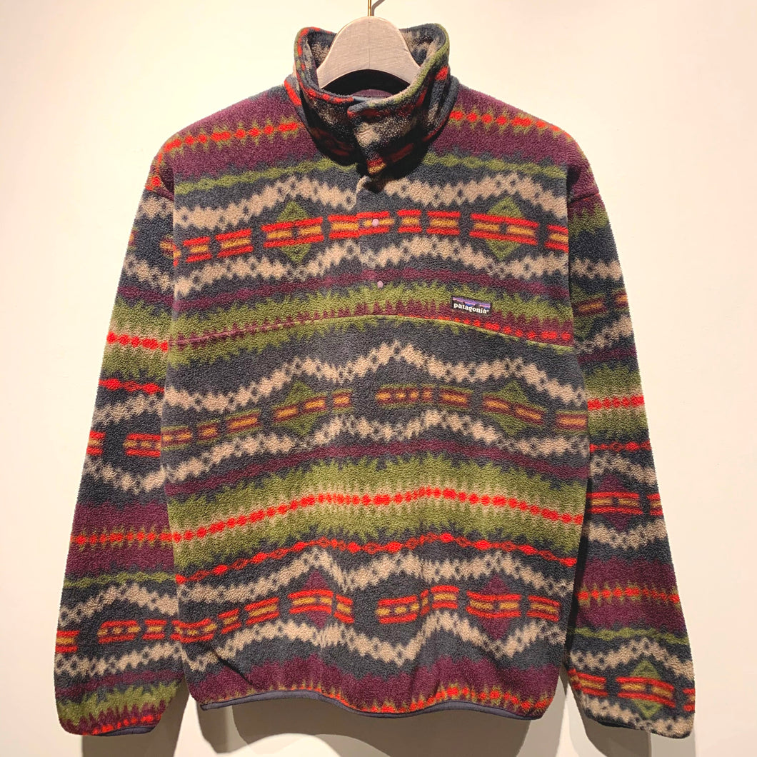 90s patagonia/Synchilla Snap-T