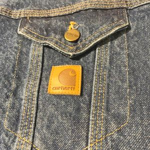 Carhartt/Denim Jacket/MADE IN USA/ size L