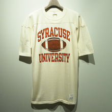 画像をギャラリービューアに読み込む, 80s Champion/SYRACUSE UNIVERSITY/football shirt/Made in USA/size L